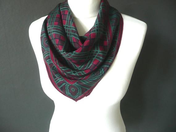 04e68e9482e7cf Designer silk scarf Codello silk scarf Italian silk scarf | Etsy