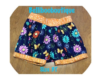 Bubble shorts size 3