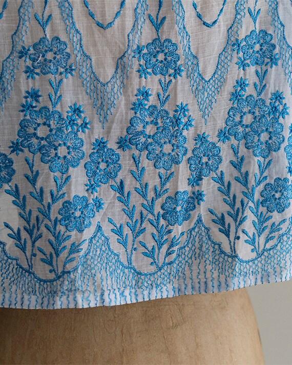 Embroidered 30s Bolero | 1930s Jacket | Sheer Sil… - image 9