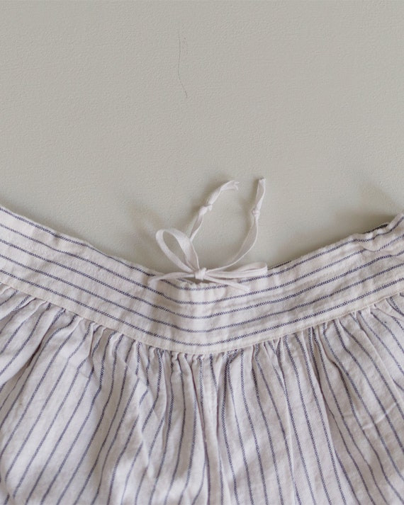 1930s Striped Cotton Shorts | High Rise Shorts | … - image 8