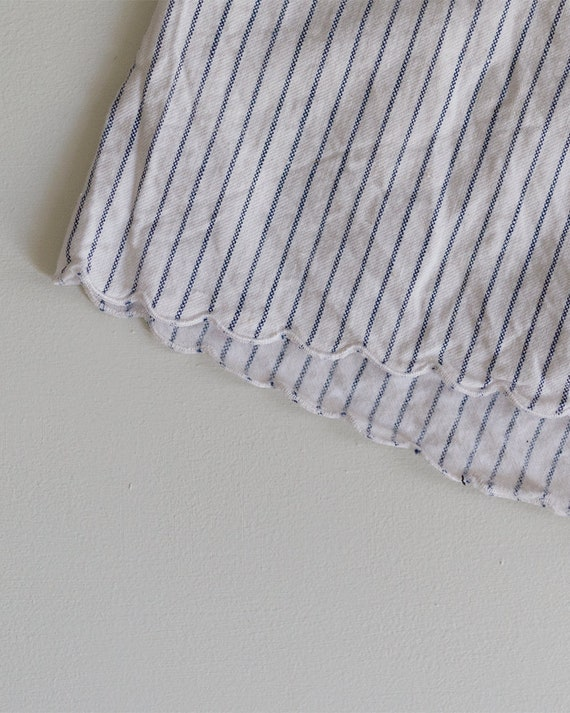 1930s Striped Cotton Shorts | High Rise Shorts | … - image 7