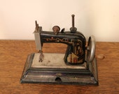 Vintage Casige Toy Sewing Machine - Model 1025 - No Box or Manuals - Working Condition - Made in British Zone Germany
