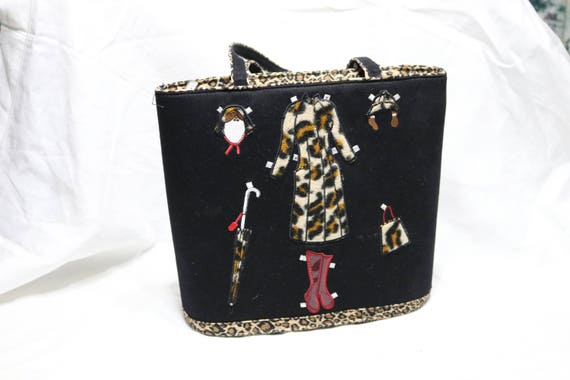 Vintage Braciano Handbag - Fashion Design Purse -