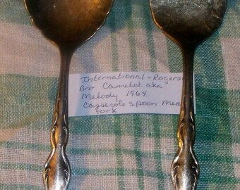 """International Silver Rogers & Bros - """"Camelot aka Melody"""" - 1964 - Pre-Owned"""