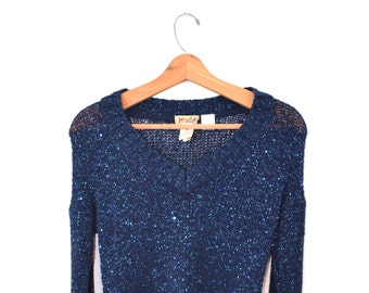 Gold Cardigan Sweater Gold Sweater Sparkle Sweater Womens Etsy