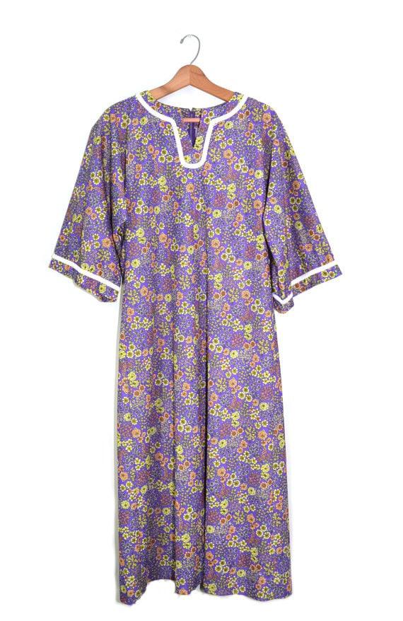 f8dc9e4f558 Vintage Caftan Dress Caftan Maxi Dress Kaftan Dress Festival
