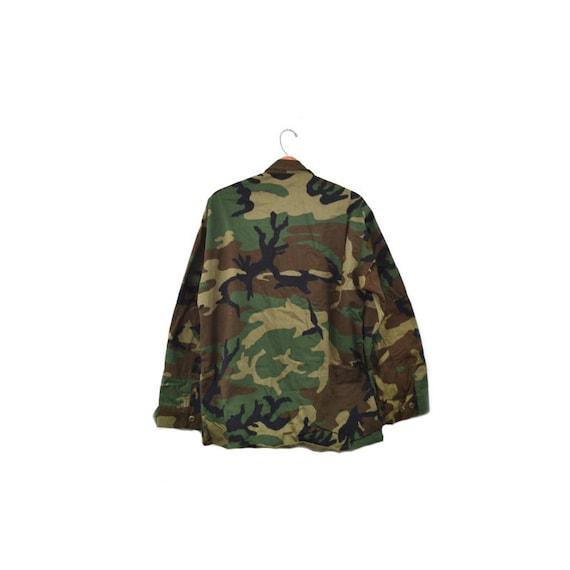 Camo Jacket Camo Shirt Army Jacket Army Shirt Cam… - image 4