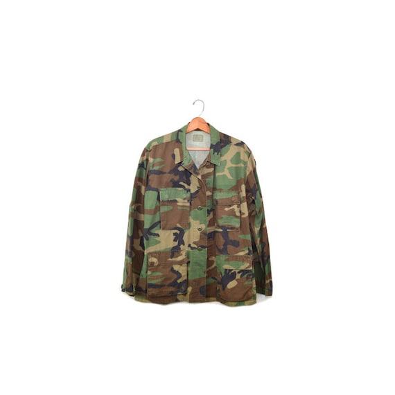 Camo Jacket Camo Shirt Army Jacket Army Shirt Cam… - image 1