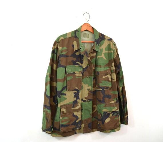 Woodland Camo Jacket Camo Shirt Army Jacket Army … - image 2