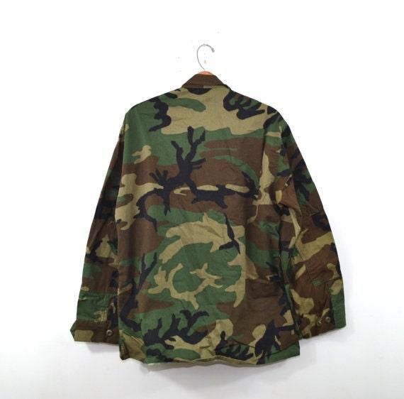 Woodland Camo Jacket Camo Shirt Army Jacket Army … - image 4