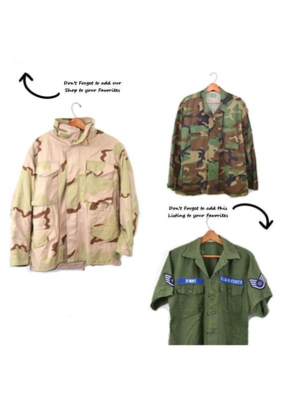 Woodland Camo Jacket Camo Shirt Army Jacket Army … - image 5