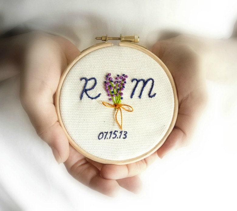 Personalized Wedding Gift Custom Wedding Embroidery