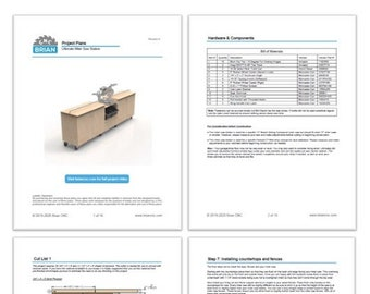 PDF Project Ultimate Miter Saw Station Plans