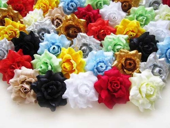 100 mix color mini silk roses heads artificial silk flower etsy image 0 mightylinksfo