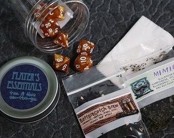 Player's Essentials (Wizarding World Edition): a DnD Tea and Dice To-Go Set