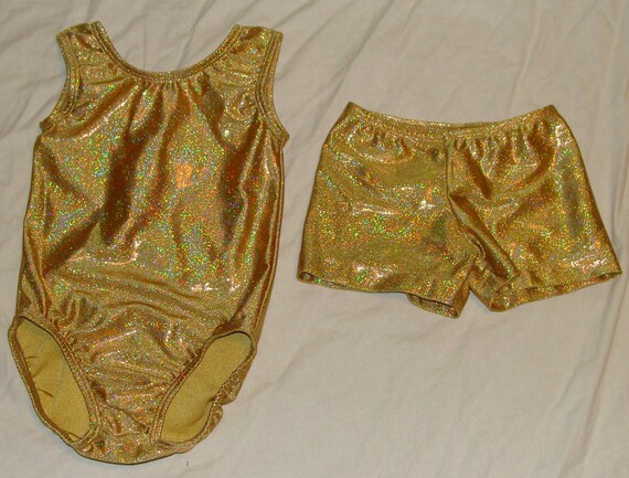 cb4f416c0 Ready to ship gymnastic leotard and shorts toddlers size 3t in