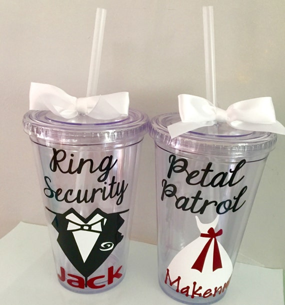 Ring Security Gift Petal Patrol Gift Wedding Favors Kids Etsy