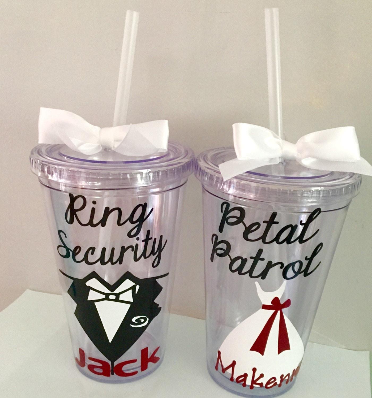 Ring Security Gift Petal Patrol Gift Wedding Favors Kids Etsy