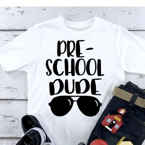Custom Grade School Dude Boys Girls Graphic Tees Long Sleeve