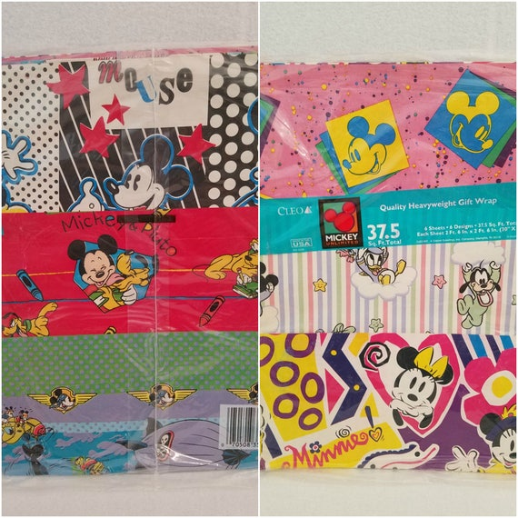 NIP 2 Packs Christmas Invitations Mickey Mouse Disney