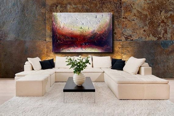 Large Abstract Wall Art Etsy