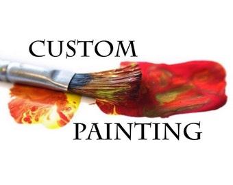 "Custom 60x60"" painting for Tanya"