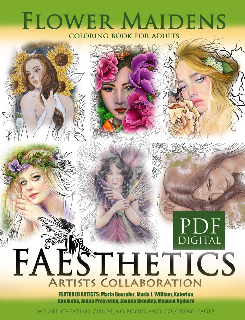 FAEsthetics Vol.2  Flower Maidens  downloadable PDF image 0
