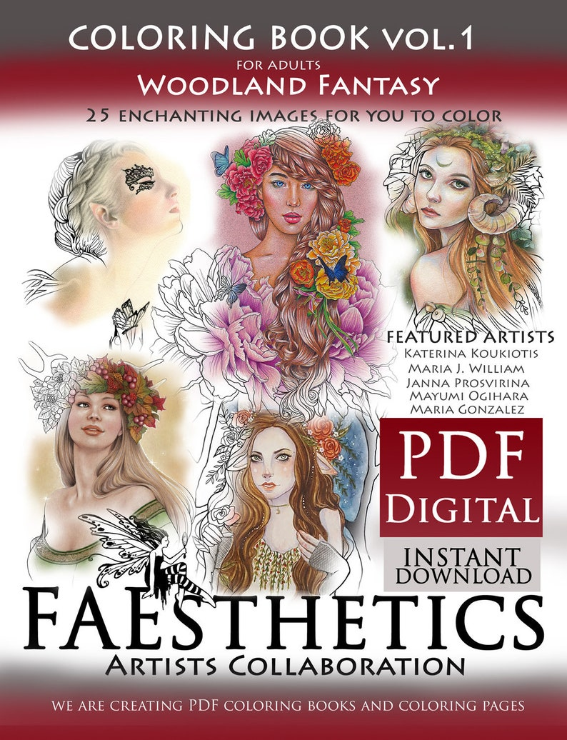 FAEsthetics Vol.1  Woodland Fantasy  downloadable PDF image 0