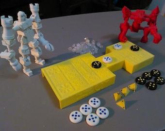 Royal game of Ur 3D Printed board game