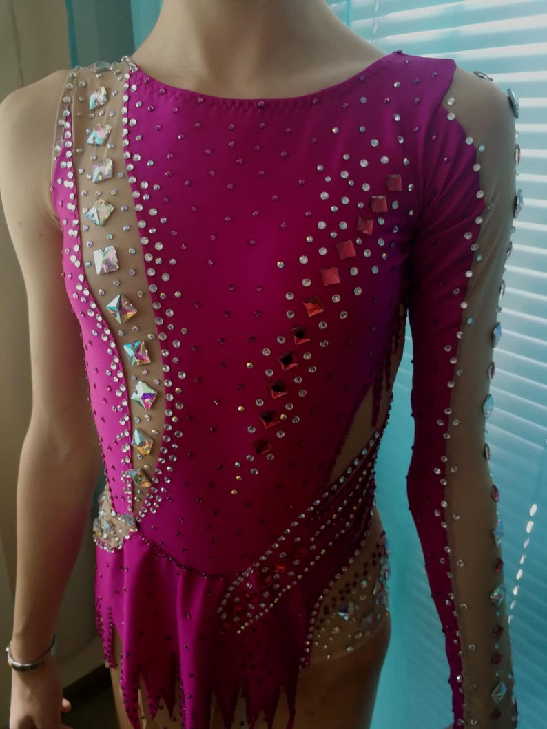 SALE Rhythmic Gymnastics Leotard  Figure Skating Dress RG-leotard for competition Dance Leotard