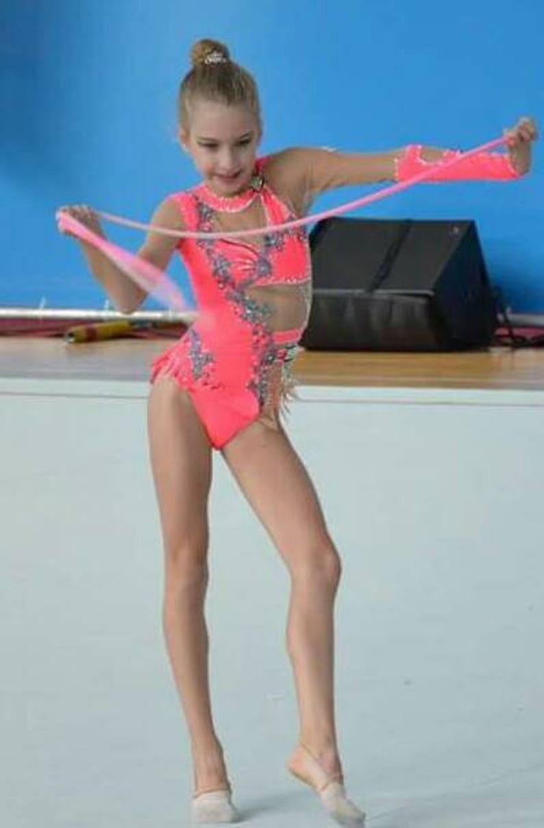 Rhythmic Gymnastics Leotard Ice Figure Skating Dress  dbb2d2ff305