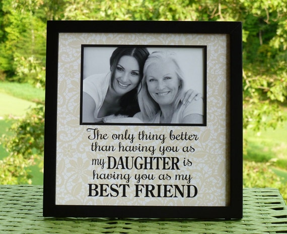 Daughter Gift Daughter Is Best Friend Daughter In Law Gift Etsy