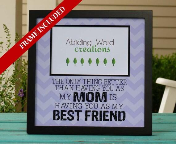 Mom Gift Is Best Friend Birthdaypersonalized
