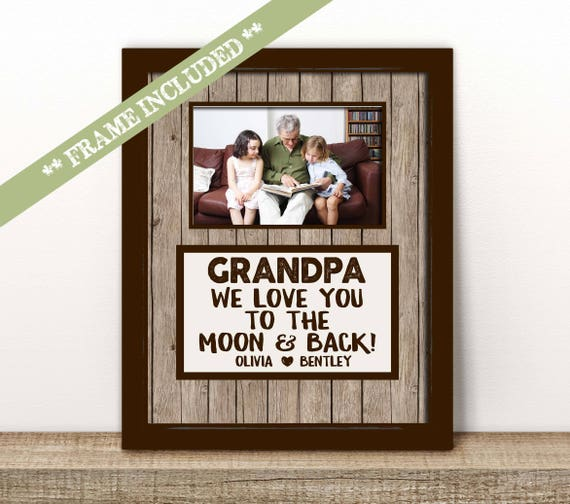 Car mats PERSONALISED I or WE LOVE GRANDAD Birthday Grandfather Gift Fathers day