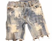 Distressed denim,baby toddler boy jean shorts, hipster kids, trendy baby, trendy kids clothes, kids jeans, boho baby denim