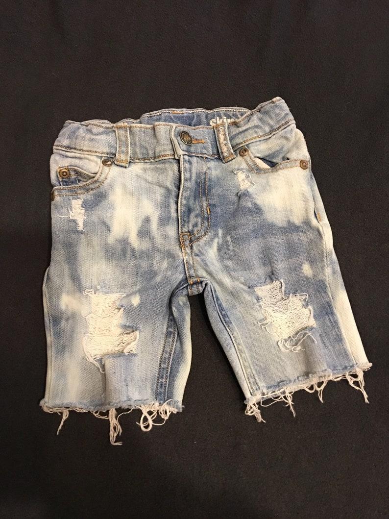 7c7acbdb9 Distressed denimbaby/toddler boy jean shorts hipster kids   Etsy