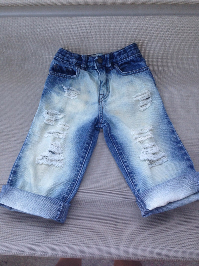 Babytoddler boy distressed jeans trendy baby kids jeans hipster kids trendy kids clothes boho baby denim