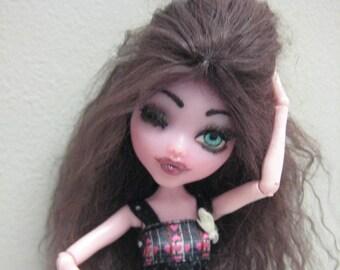 Ooak Monster High Draculaura Doll Artist Doll Custom Doll One Of A Kind