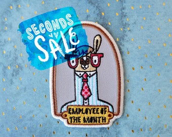 SECONDS SALE Employee of the Month embroidered patch