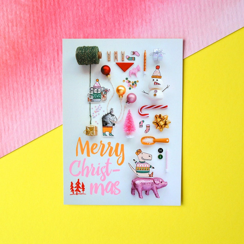 Holiday greeting card 'collection' image 0