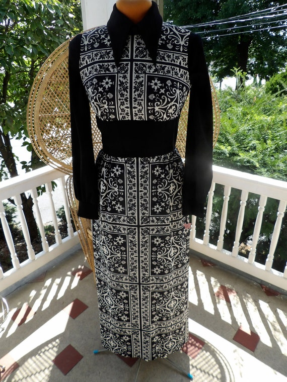 Vintage 1960's 2 piece Dress by Parade/New York