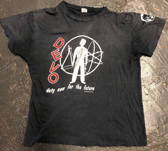 Original 1979 Devo Short Sleeve T Shirt Duty Now F