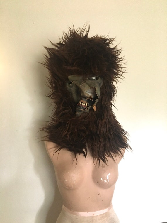 vintage illusive concepts brittle latex wolfman ma