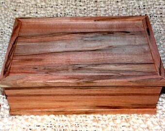 Spalted Maple Keepsake Box