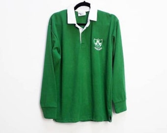 finest selection 1a88d e6fba Ireland rugby shirt | Etsy