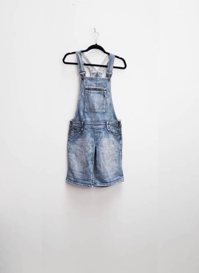 Blue Denim Dungarees Vintage Blue Denim Overalls Vintage Dungaree Shorts Women/'s Blue Denim Vintage Dungarees Shorts Blue Denim Overalls S