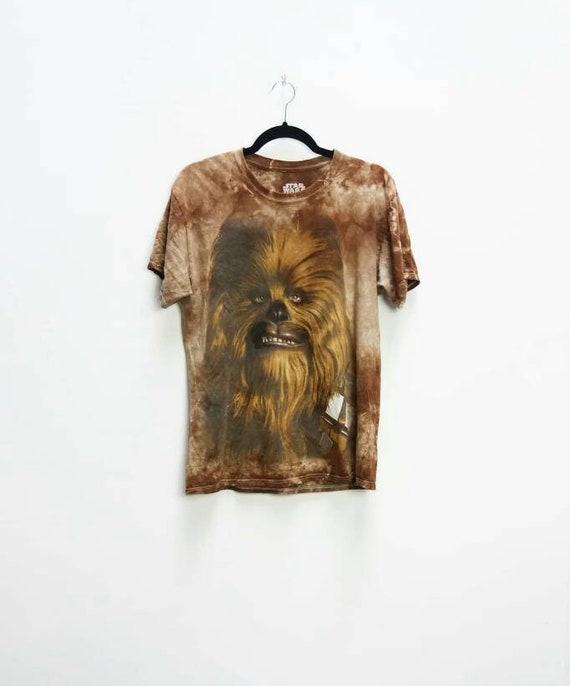 Chewbacca T Shirt Vintage Star Wars T Shirt Chewbacca Etsy
