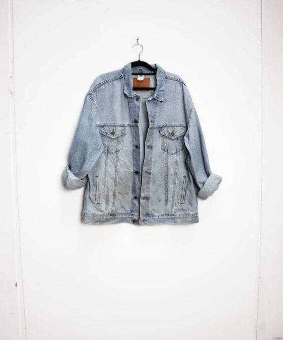 Levi's Denim Jacket Vintage Blue Denim Jacket Levi