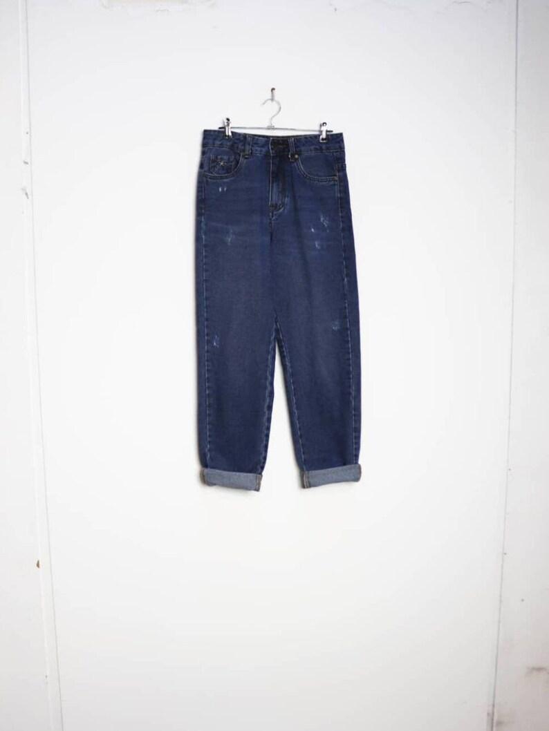 Blue Denim Mom Jeans Vintage Blue Jeans Small Women/'s Jeans Blue Mom Jeans Small Blue Denim Jeans Vintage Mom Jeans High Waisted Denim Jeans