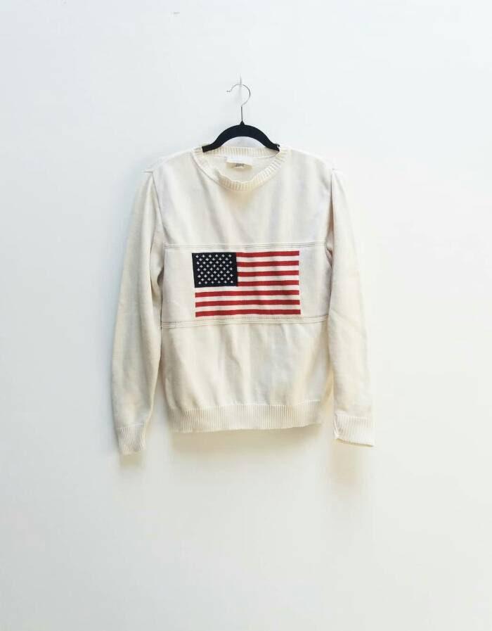 826d350a8d74 American Flag Cotton Jumper
